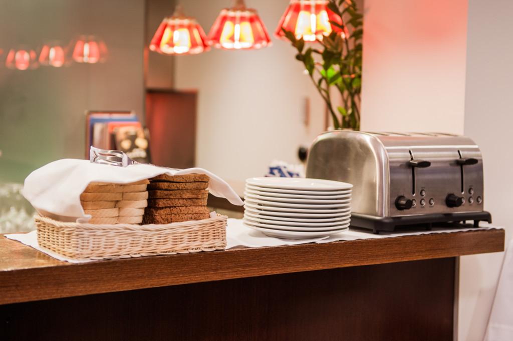 Colazione area toast