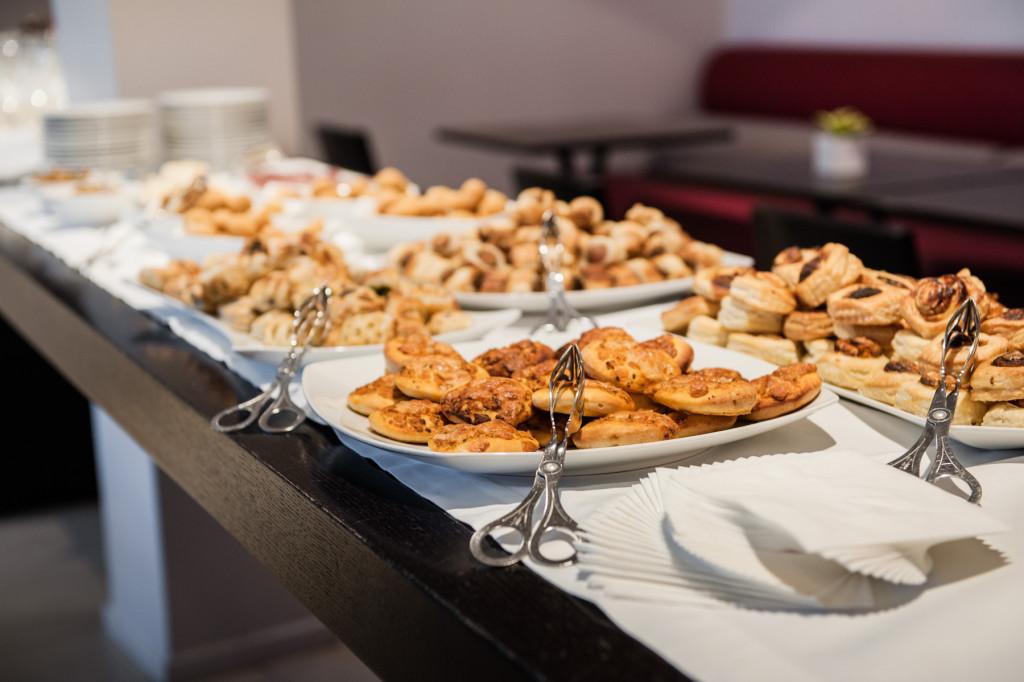 buffet aperitivo meeting